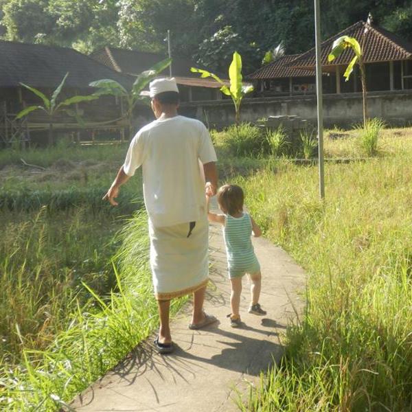 Voyager seule à Bali avec un bébé
