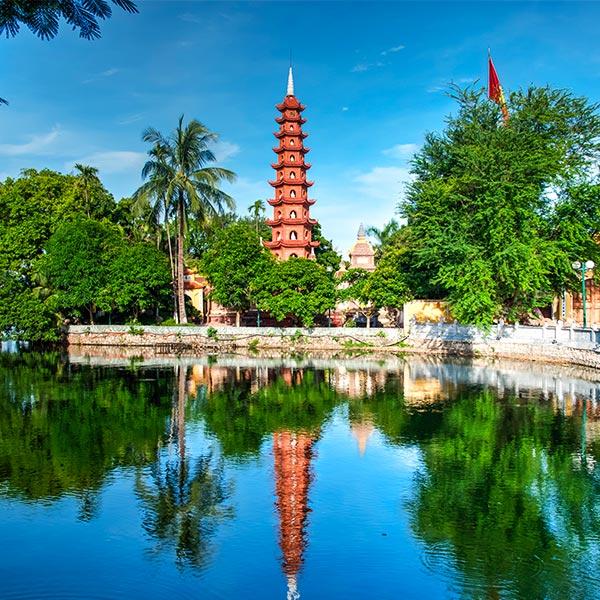 Découverte complète du Vietnam  860€    8 jours