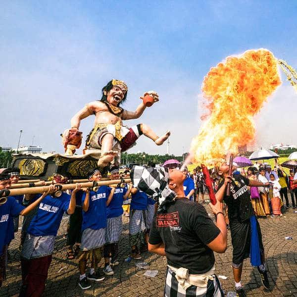 Nyepi : le jour du silence à Bali
