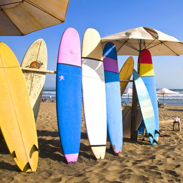 Découvrez les meilleurs spots de surf à Bali