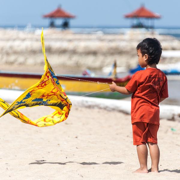 Les cerfs-volants à Bali: une réelle passion pour les habitants